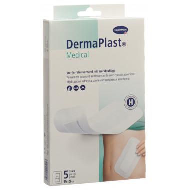 DermaPlast Medical Vliesverband 15x9cm