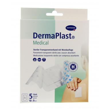 DermaPlast Medical Transparentverband 10x9cm