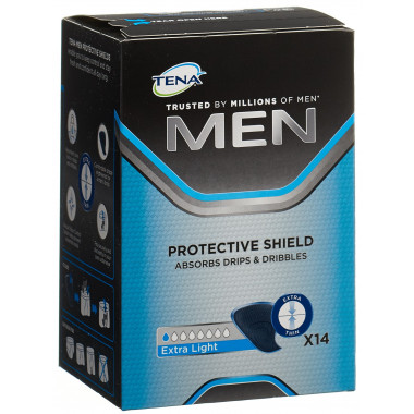 TENA Men Protective Shield Level 0 Extra Light