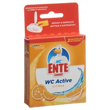 WC-ENTE Active Nachfüller Citrus