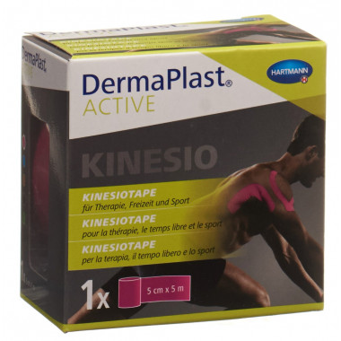 DermaPlast Active Kinesiotape 5cmx5m pink