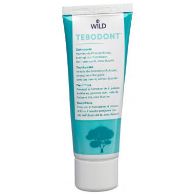 Tebodont Zahnpaste ohne Fluorid
