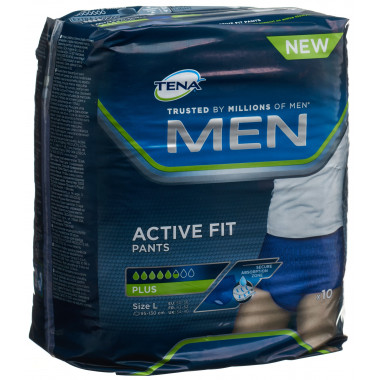 TENA Men Active Fit Pants L