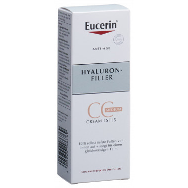 Eucerin HYALURON-FILLER CC-Cream Medium