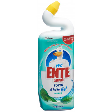 WC-ENTE Total Aktiv Gel Minze