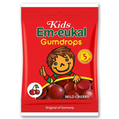 Em-eukal Kids Gumdrops Wildkirsche