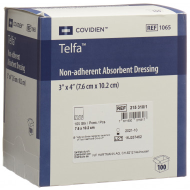 Telfa Surgical Dressing 7.5x10cm steril surgical dressing