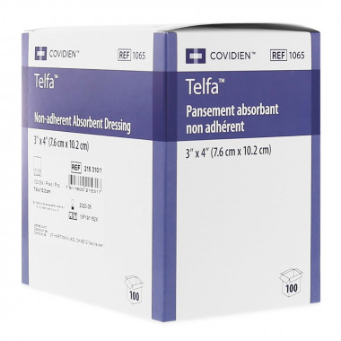 Telfa Surgical Dressing 7.5x20cm steril surgical dressing