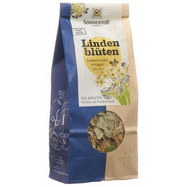 SONNENTOR Lindenblüten Tee ganz