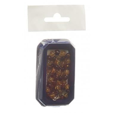 Amberstyle Bernsteinkette cognac citrin 36cm mit Karabinerverschluss