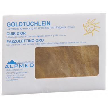 Alpmed Goldtüchlein