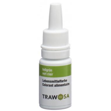 Trawosa Lebensmittelfarbstoff hellgrün