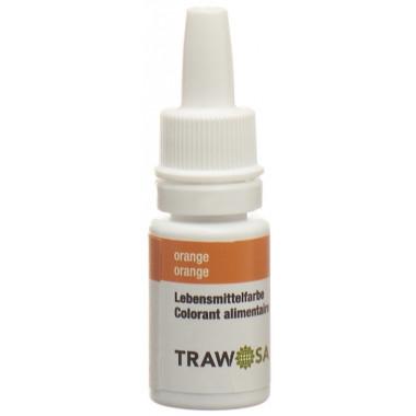 Trawosa Lebensmittelfarbstoff orange