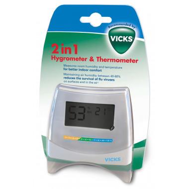 Vicks 2in1 Hygrometer & Thermometer V70EMEA