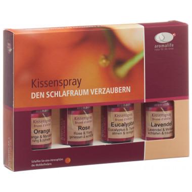 aromalife Geschenkset Kissenspray 4x30ml