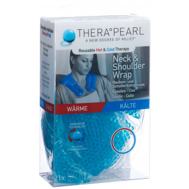 THERA°PEARL Wärme oder Kältetherapie Nacken- und Schulterkompresse