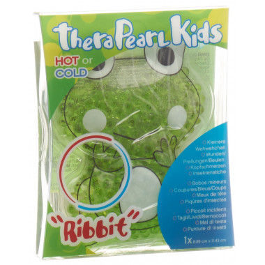 THERA°PEARL Kids Wärme und Kältetherapie Ribbit