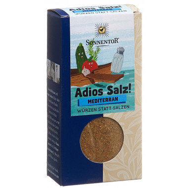SONNENTOR Adios Salz! Mediterane Gemüsemischung Gemüsemis