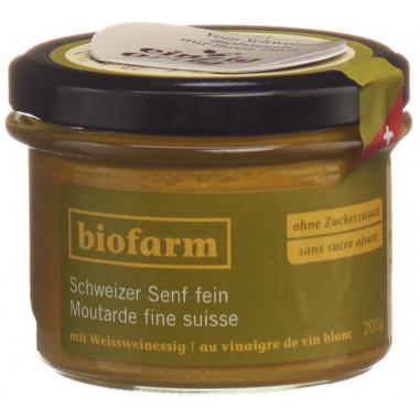 Biofarm Senf fein Knospe CH