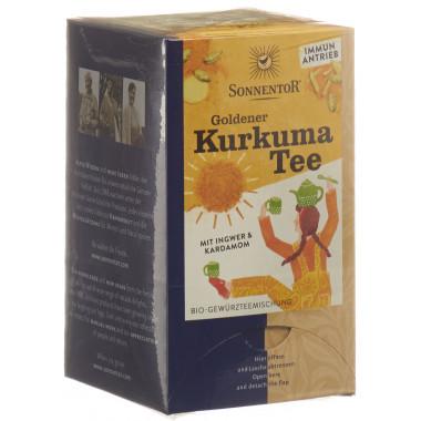 SONNENTOR goldener Kurkuma Tee