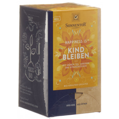 SONNENTOR Happiness is Kind bleiben Tee