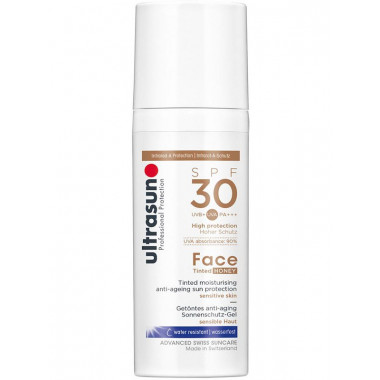 ultrasun Face Tinted Honey SPF 30
