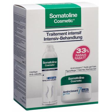 Somatoline Cosmetic Use&Go Anticellulite 150ml +7Nächte Gel 250ml