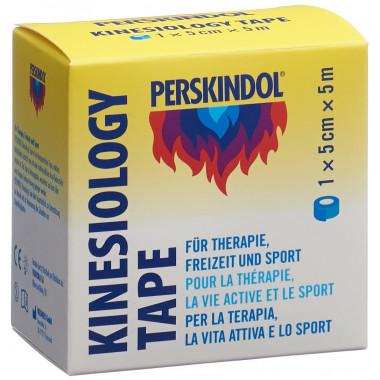 Perskindol Kinesiology Tape 5cmx5m blau