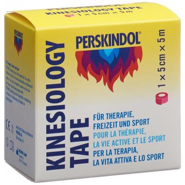 Perskindol Kinesiology Tape 5cmx5m rosa