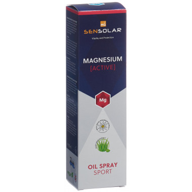 SENSOLAR Magnesium Active Oil Spray Sport