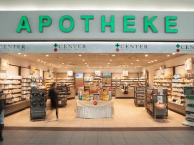Aussenansicht Apotheke Center Dielsdorf