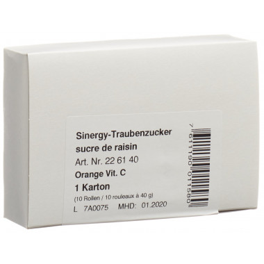 Sinergy Traubenzucker Orange Vitamin C
