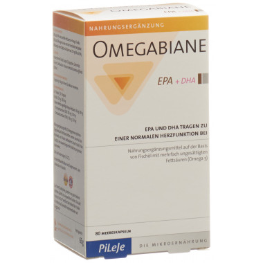 OMEGABIANE EPA + DHA Kapsel 621 mg
