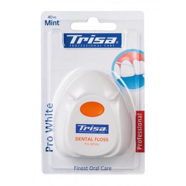 Trisa Zahnseide 40m Pro White