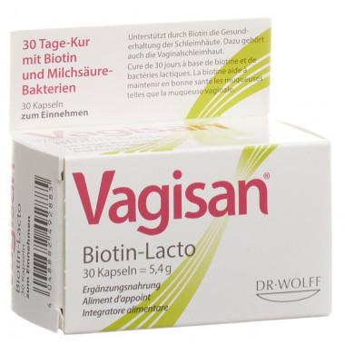 Vagisan Biotin-Lacto Kapsel