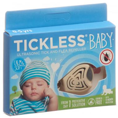 Tickless Baby Zeckenschutz beige