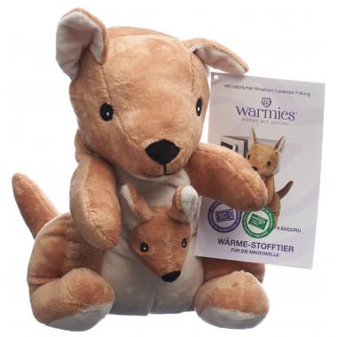 Warmies Wärme-Stofftier Känguru Lavendel-Füllung